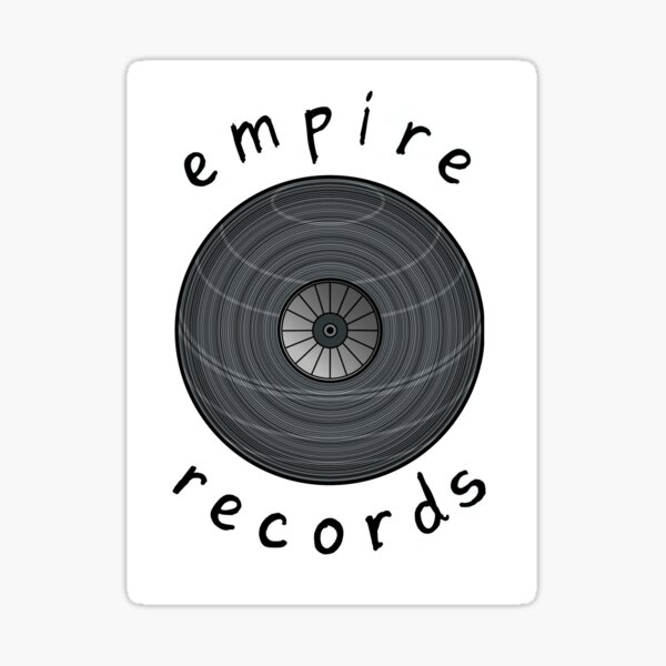 Empire Records Sticker