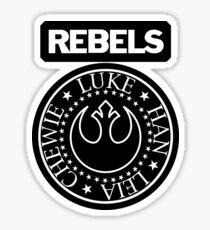 I Wanna Be a Rebel Sticker