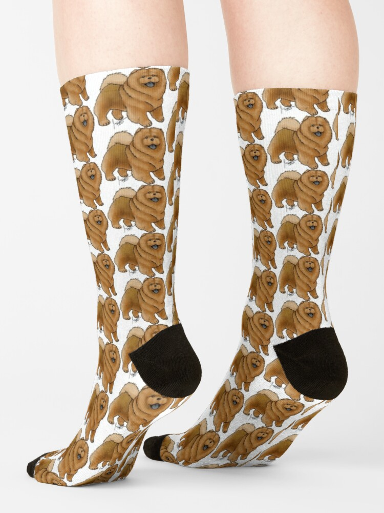 Alternate view of Chow Chow Socks