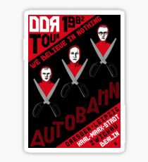 Autobahn Tour Sticker