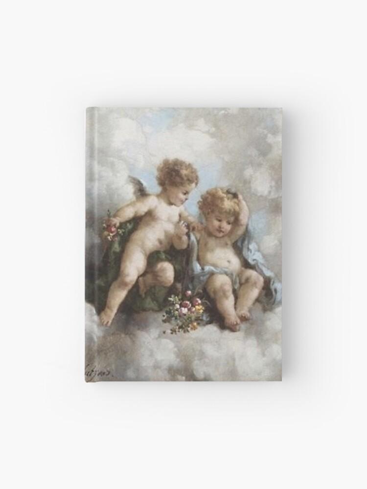 Cherub Renaissance Art Aesthetic Updated Hardcover Journal By Daesangsuga Redbubble