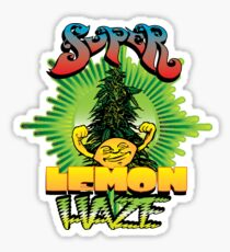 Super Lemon Haze Sticker