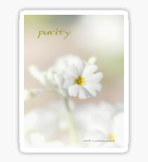 Purity STICKER © Vicki Ferrari Photography Sticker