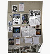The wall of change? Poster