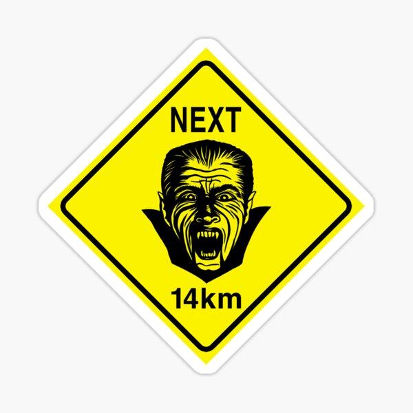 Vampires Next 14km Sticker