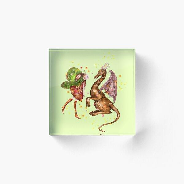 Desta The Dragon Fairy ™ Acrylic Block
