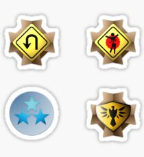 Halo Medals Sticker Pack Sticker