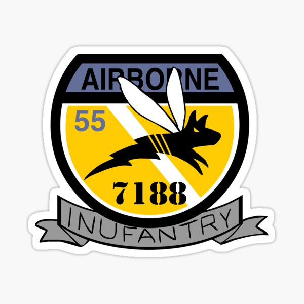 Inufantry Sticker