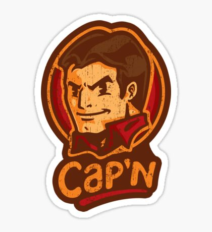 Cap'n! - STICKER Sticker