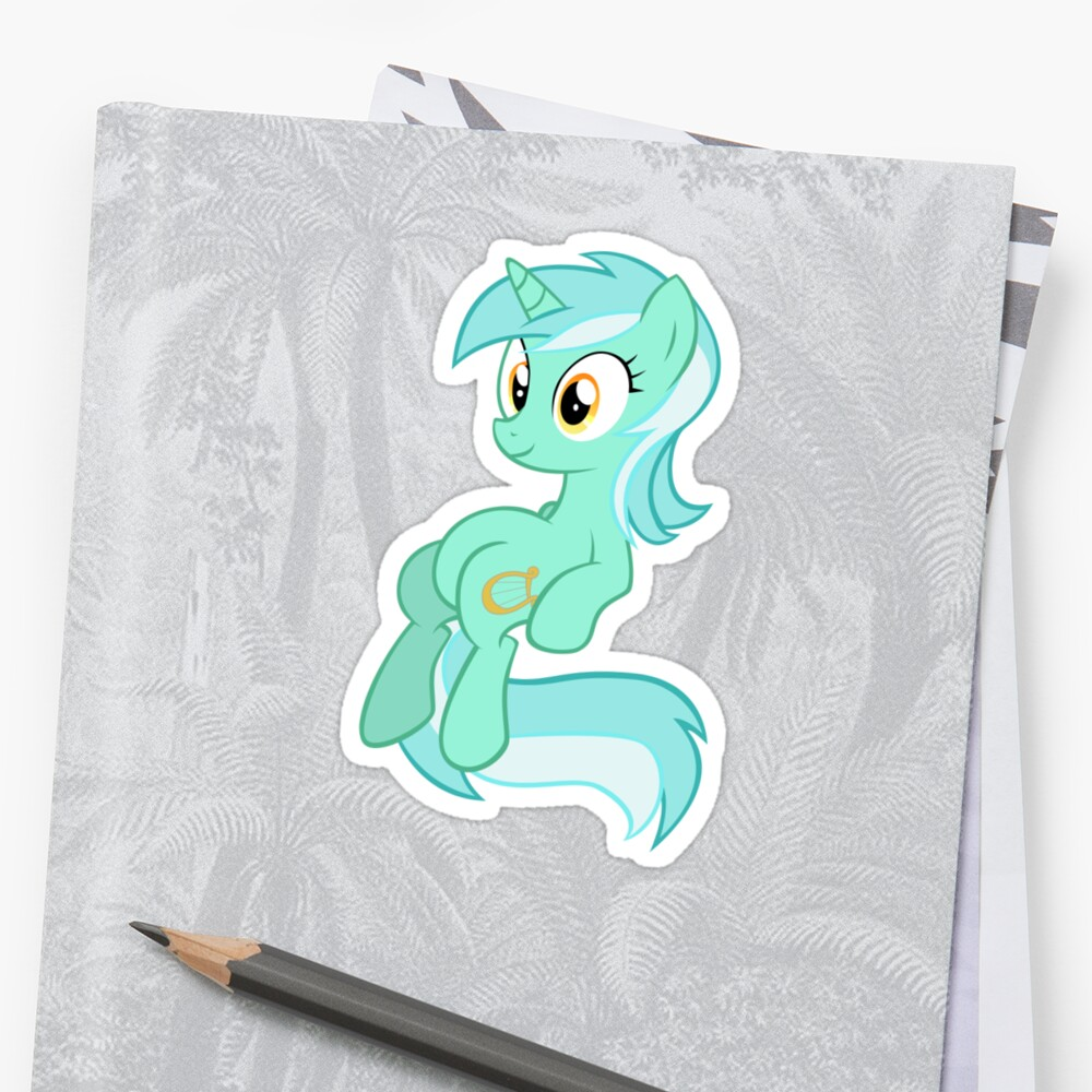 Lyra Chilling. - My little Pony Friendship is magic by DarkArrow