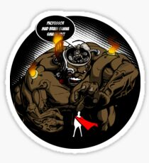 Mad Professor Smash! sticker Sticker