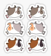 Leaping Guinea-pig  Sticker