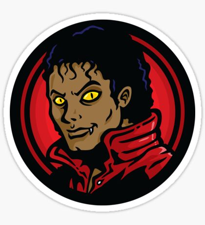 Thrill of the Night - STICKER Sticker