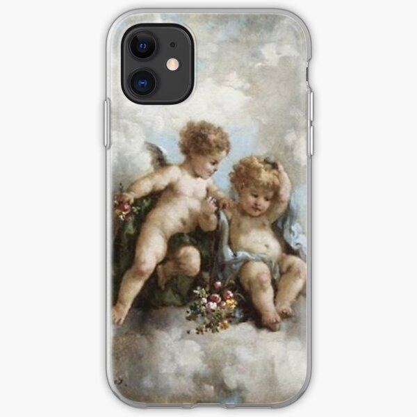 cherub renaissance art aesthetic *UPDATED* iPhone Soft Case