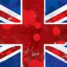 Union Jack Splatter by soapyburps
