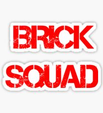 Brick Squad Hoodie Sticker