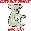 Drop Bear Sticker by ligortees