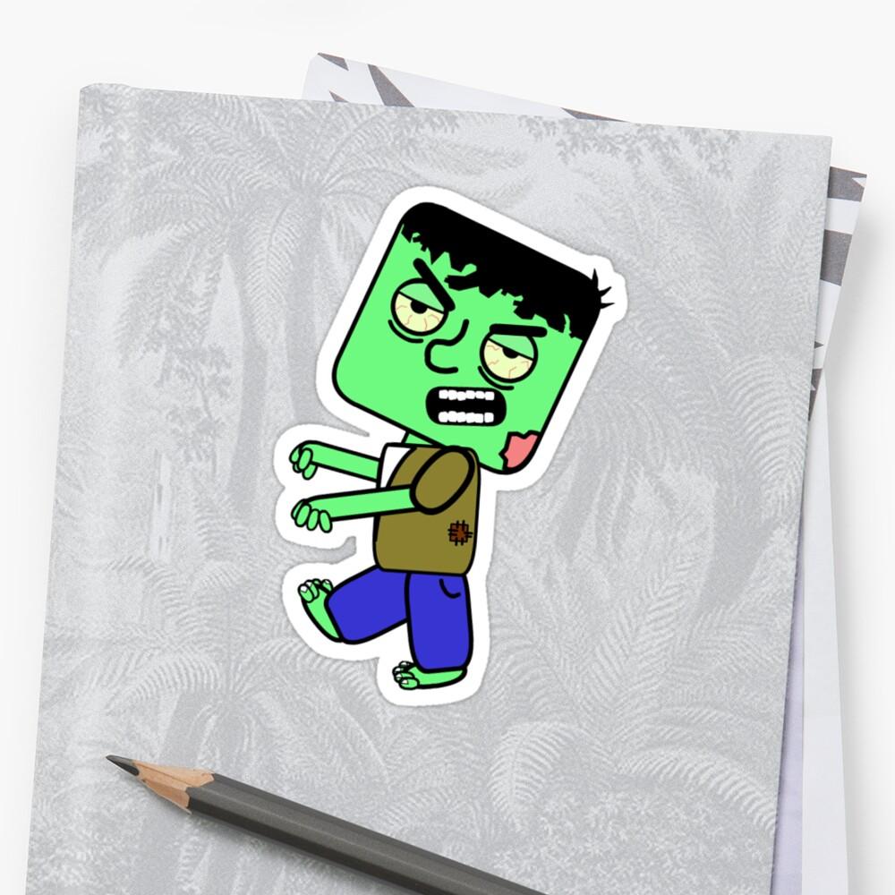 Zombie Cartoon by brennanpearson