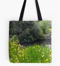 Fitzroy Garden Pond Tote Bag