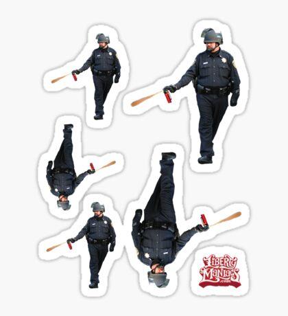 UC Davis Peeper Spray Cop Sticker