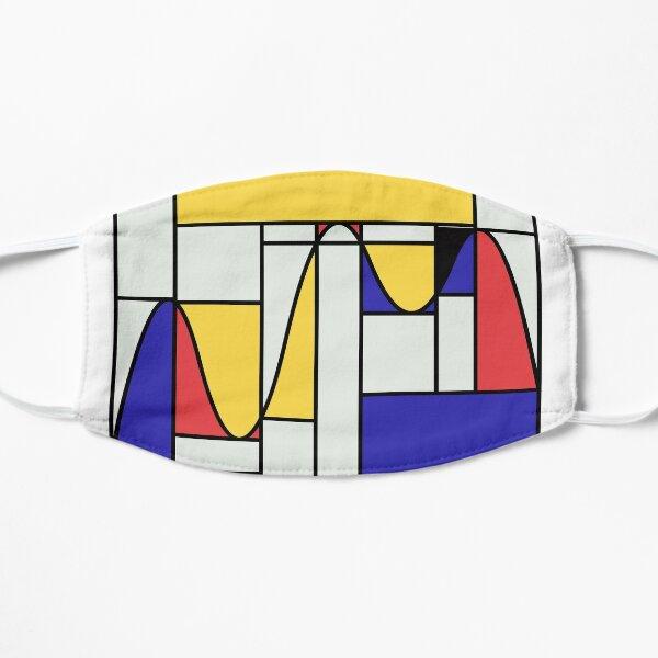 Riemondrian - Mathematical Art based on the work of Piet Mondrian Mask