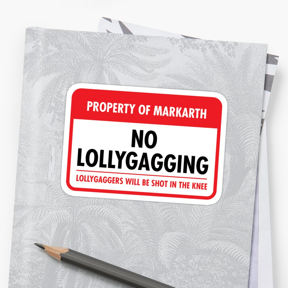 Markarth Municipal Ordinance (Sticker) by Eozen