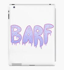 Barf BLUE iPad Case/Skin