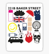 FAVOURITE SHERLOCK MOMENTS STICKER Sticker