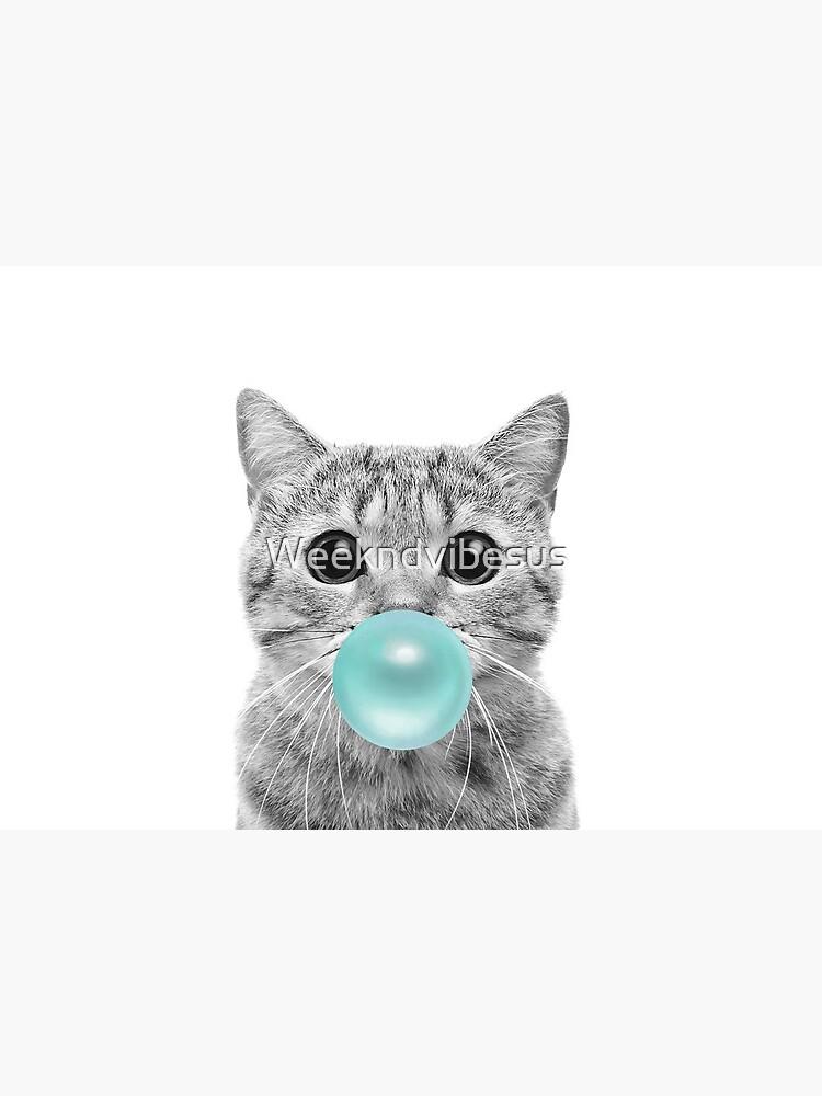 Cat Bubblegum by Weekndvibesus
