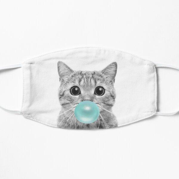 Cat Bubblegum Flache Maske