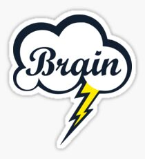 Let's Brain Storm Sticker