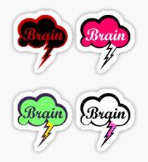 Evil Brain Storm's Sticker