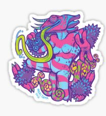 Goddess of Plasma Sticker