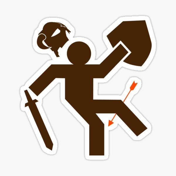 Arrow to the Knee - Sticker Sticker