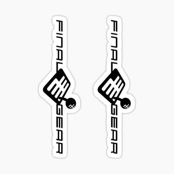 FinalGear Logo Sticker (2 Pack) Sticker