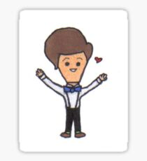 The Eleventh Doctor Hugs Sticker