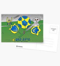 EURO 2012 binary options news cartoon Postcards