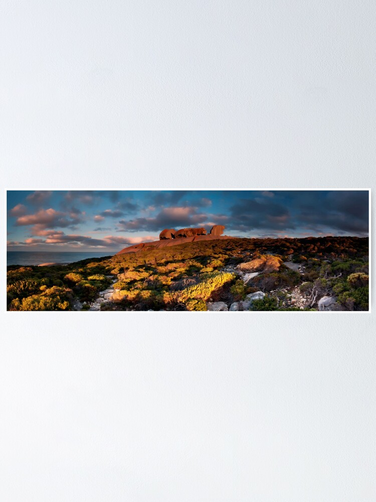 Alternate view of Remarkable Rocks Pano Poster