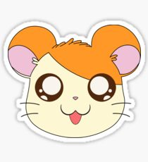 Hamtaro's Head Sticker