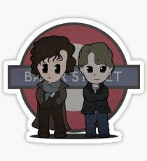 Baker Street Consultants Sticker