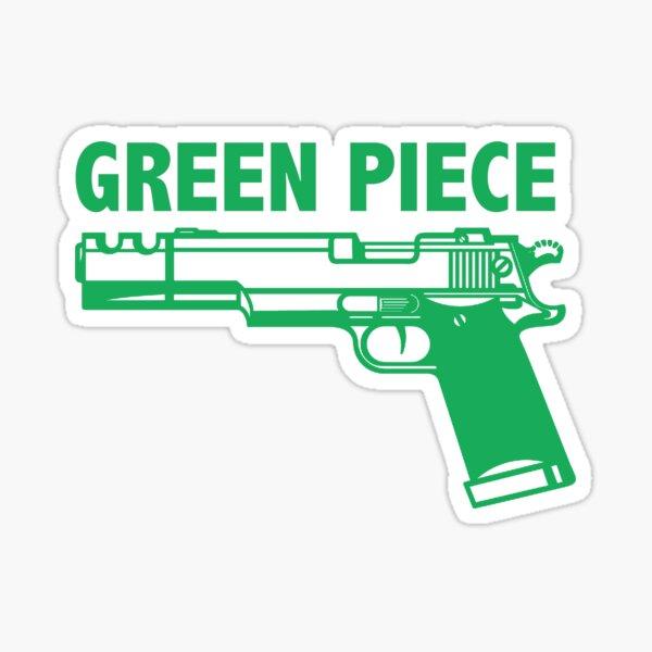 Green piece Sticker