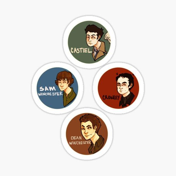 Supernatural Stickers Sticker
