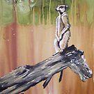 Meerkat Lookout by Cherie Roe Dirksen