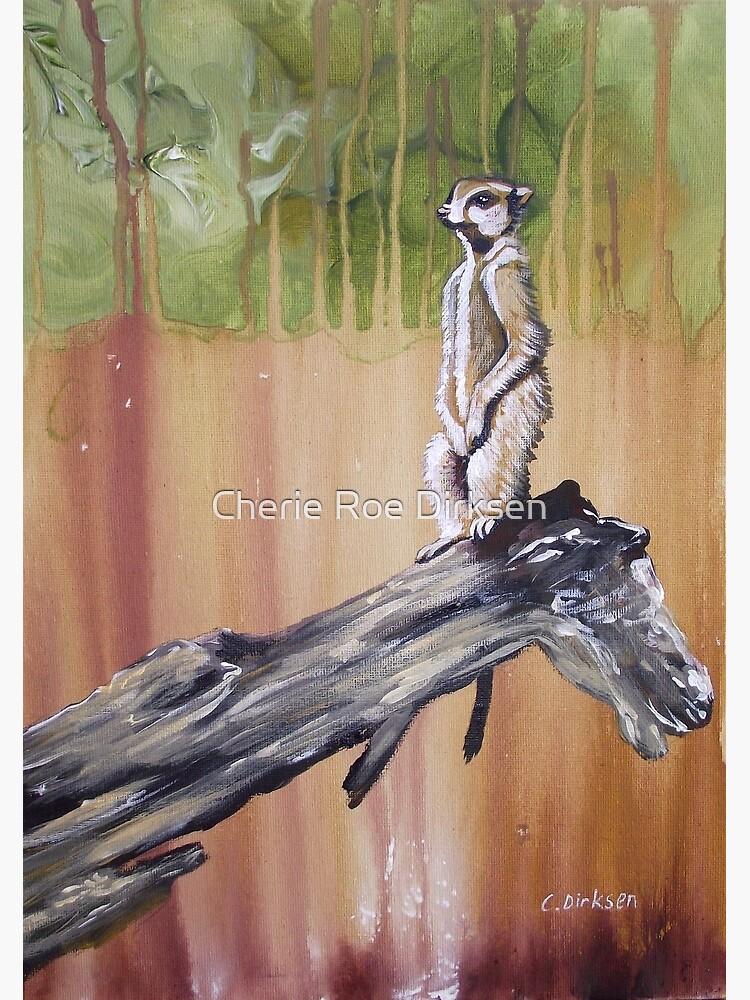 Meerkat Lookout by cheriedirksen