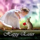 Happy Easter Sticker by Michelle *