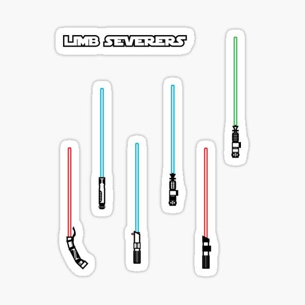Limb Severers (sticker pack) Sticker