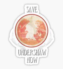 Save Undershaw Now (Sticker 1) Sticker