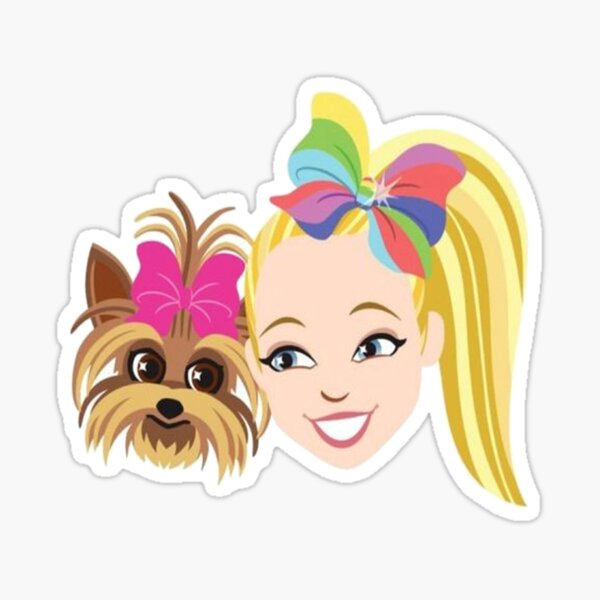 JoJo and BowBow Siwa Sticker