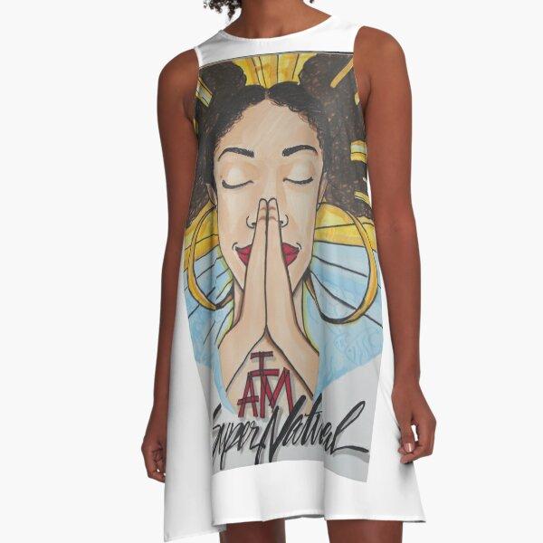 Supernatural  A-Line Dress