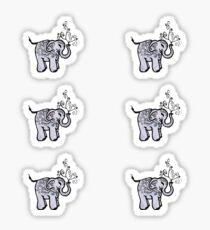 Elephant Mini Stickers Sticker